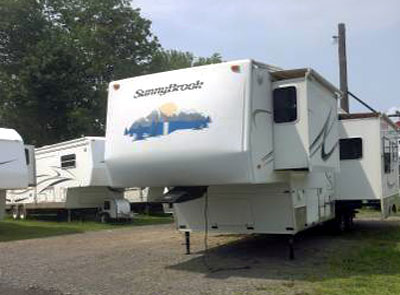 used campers